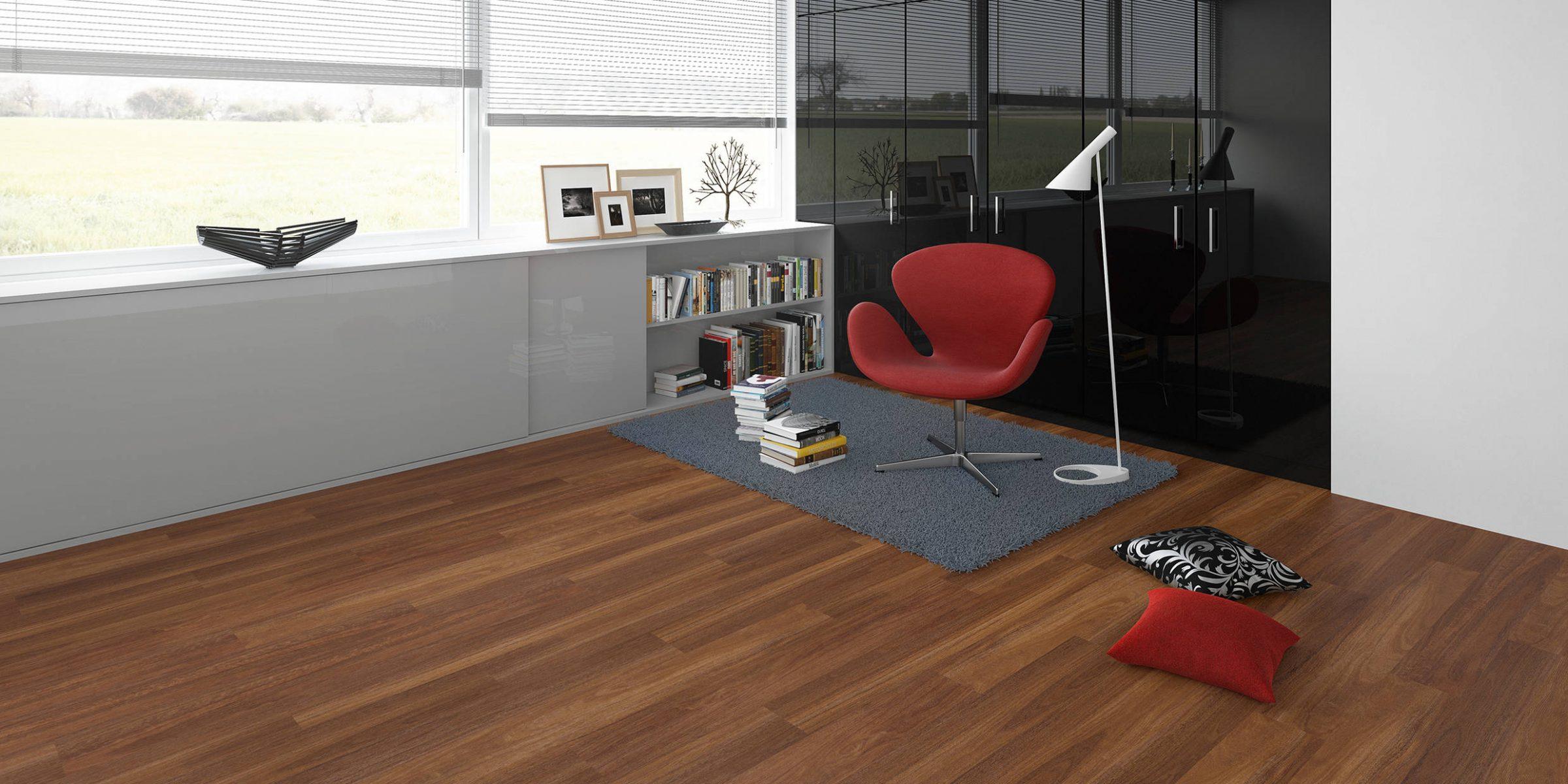 Linoleum Designboden - kompetent und meisterhaft. Ensgtler Allgäu.